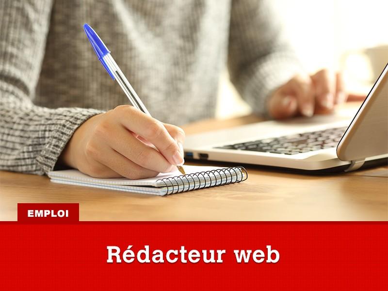 Emploi de rédacteur web