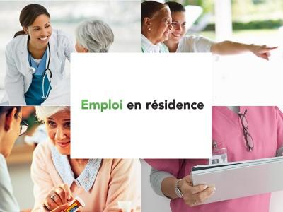 Emploi en résidence pour personnes âgées, aînés et retraités